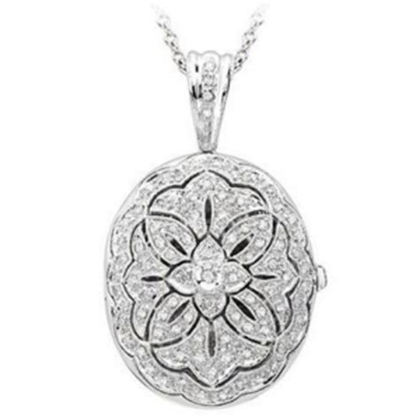 14k White Gold Premium Oval Photo Locket With Diamonds. Inlay Earrings. Soccer Necklace. Contemporary Wedding Rings. Gold Necklace Chains. Family Tree Pendant. Lighting Pendant. Man Rings. Football Rings