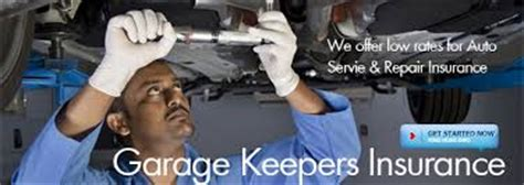 garage keepers insurance difference between garage liability and garage keepers