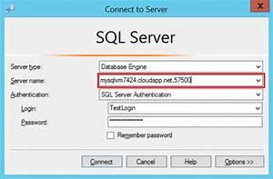 Connettersi a una macchina virtuale di SQL Server in Azure ...
