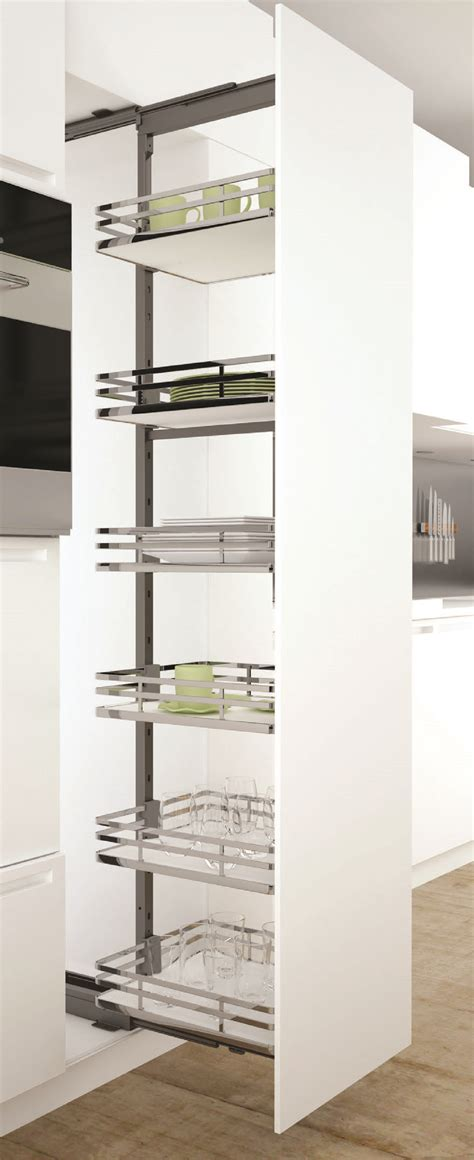 kitchen storage solutions uk sige infinity plus pull out larder apollo white pull 6197