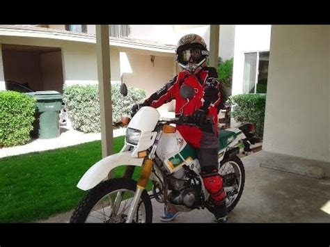 LEARNING TO RIDE ON A YAMAHA XT225 / SEROW MOTORCYCLE ...