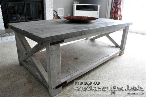 Diy live edge wood coffee table. artisan des arts: DIY - Oxidized wood X coffee table
