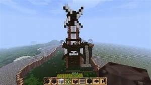 Windmill Farm Minecraft Project