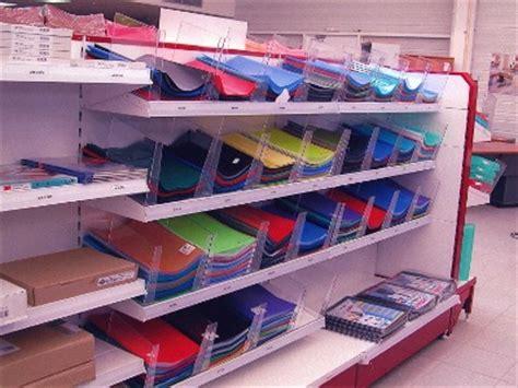 fabriquer un bureau informatique gondole magasin pour la papeterie gondoles modulaires