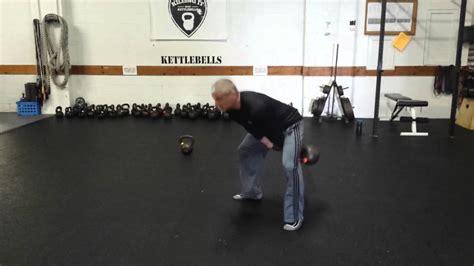 kettlebell double swing