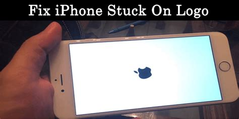 iphone stuck on apple screen how to fix iphone stuck on apple logo 5 ways safe tricks