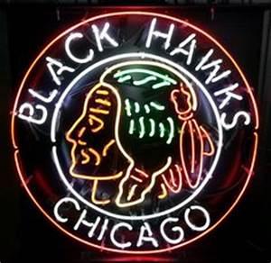 Bud Light Chicago Blackhawks Neon Sign BuckNashtyBiz