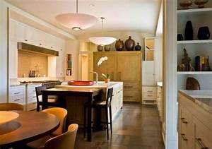 la cuisine avec ilot cuisine bien structuree et With meubler une petite cuisine