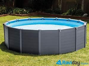 Une piscine hors sol Intex pour profiter de votre été