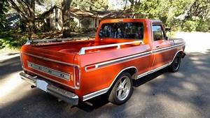 1978 Ford F100 Ranger Xlt Lariat Short Bed Pickup 73 74 75