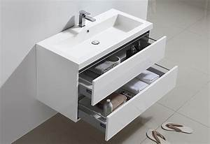 meuble salle de bain city 100 collection meuble design With bianco meuble salle de bain