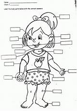 Coloring Human Preschoolers Popular sketch template