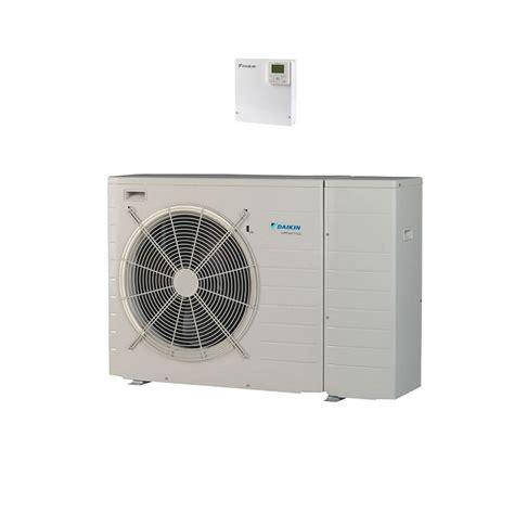 daikin ebhqbbv air  water heat pump monobloc systems