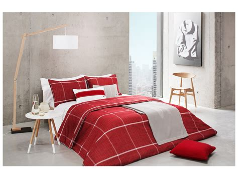 lacoste cambon twin comforter set shipped free at zappos