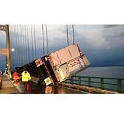 Mackinac Bridge Crash No Injuries Or Damage After High