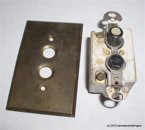push button light switch vintage arrow push button light switch brass switch