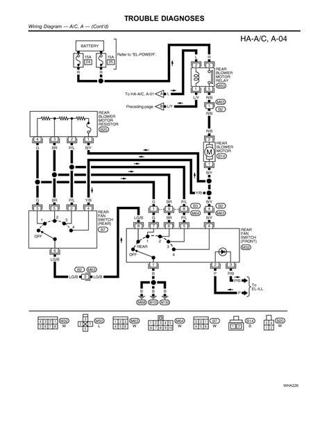 2002 Nissan Quest Wiring Diagram by Repair Guides Heating Ventilation Air Conditioning