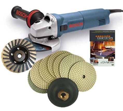 concrete countertop tools concrete countertop polishing package
