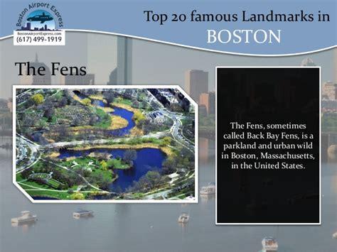 Top 20 Famous Landmarks In Boston,ma