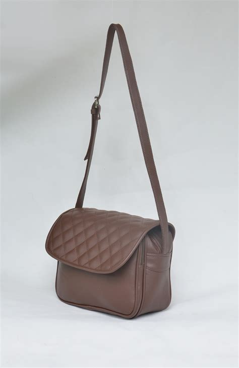 tas kulit kerja selempang tas selempang wanita iris pasar tas