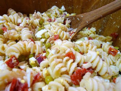 dijon cuisine tuna pasta salad food comas