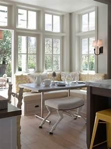 Küche Landhausstil Weiß : 100 unikale ideen f r sitzecke in der k che ~ Indierocktalk.com Haus und Dekorationen