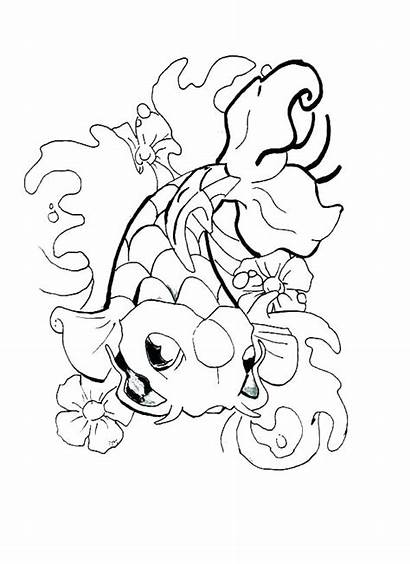 Tattoo Coloring Pages Tattoos Designs Rose Cool