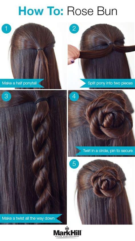 amazing bun updo ideas  long medium length hair