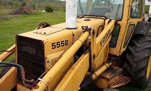Ford New Holland 555b 3 Cylinder Tractor Loader Backhoe