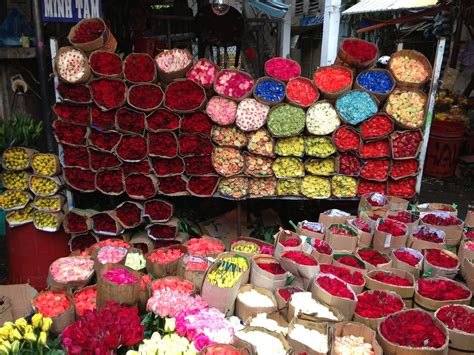 Saigon Flower Market Of Vietnam Market Update