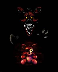 Five Nights at Freddy's FNaF4 Nightmare Foxy by kaizerin ...