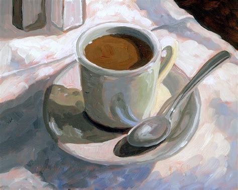 This is the tutorial painting of coffee cup in rain drops!! Cup of Coffee, Coffee Cup, Painting of Coffee Cup, Coffee ...