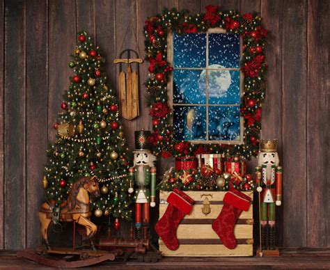 Backdrop Santa by Deluxe Set Backdrop
