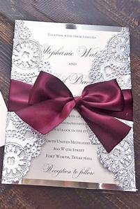 40 unique and modest wedding invitation card ideas With wedding invitations wrapped in ribbon