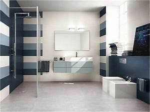 best salle de bain bleu gris ideas lalawgroupus With salle de bain bleu gris