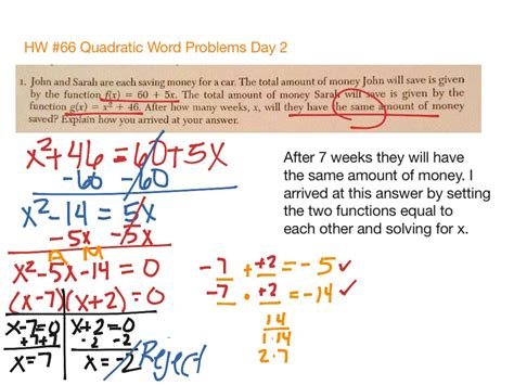 quadratic word problems projectile motion worksheet free printables worksheet