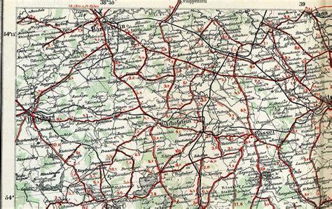 korschen bartenstein umgebung ostpreussen landkarte
