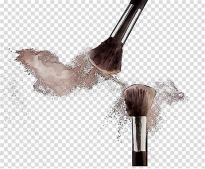 Brush Makeup Clipart Eye Brushes Shadow Clip