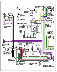 65 Chevy Truck Wiring Diagram