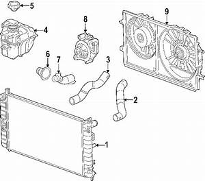 Chevrolet Malibu Radiator Coolant Hose  Liter  Cooling