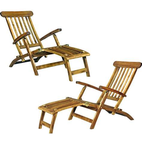 chaise longue teck pas cher conceptions de maison