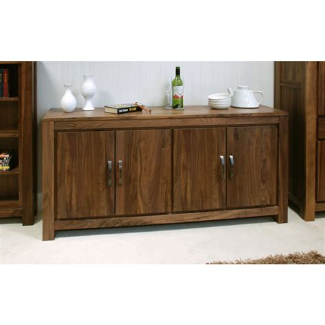 mayan large low living dining room sideboard solid walnut