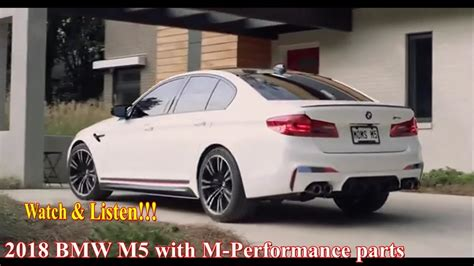 M5 Performance Parts by Listen 2018 Bmw M5 With M Performance Parts