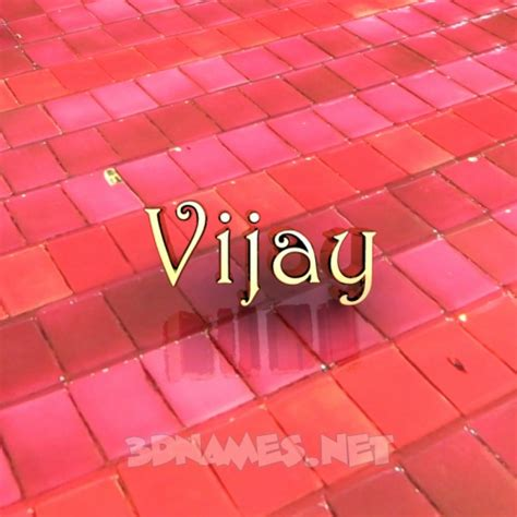3d Name Wallpapers Vijay Search by Preview Of Tiles For Name Vijay