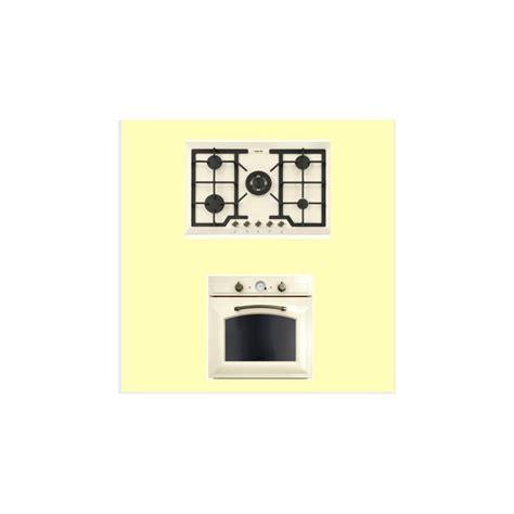 piano cottura e forno elettrico piano cottura e forno elettrico foster color avorio