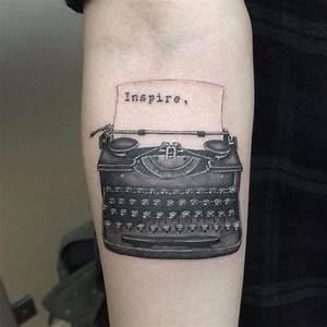 Best 20+ Typewriter Tattoo ideas on Pinterest | Typewriter ...