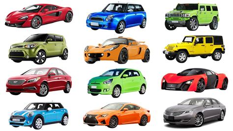 Brand Of Cars Names Of Cars Transportation For