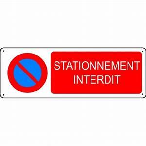 Panneau Interdit De Stationner : panneau stationnement interdit stocksignes ~ Dailycaller-alerts.com Idées de Décoration