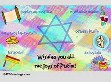 Joys Of Purim Free Purim eCards, Greeting Cards 123