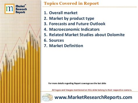 Dolomite Markets In The World To  Market Size